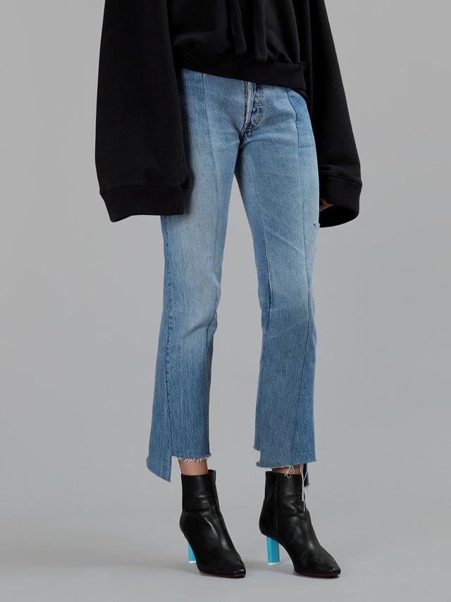 vetements jeans reworked vintage denim diy inspo trendsurvivor. Black Bedroom Furniture Sets. Home Design Ideas