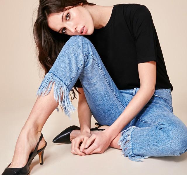 3x1.us Stella fringed jeans