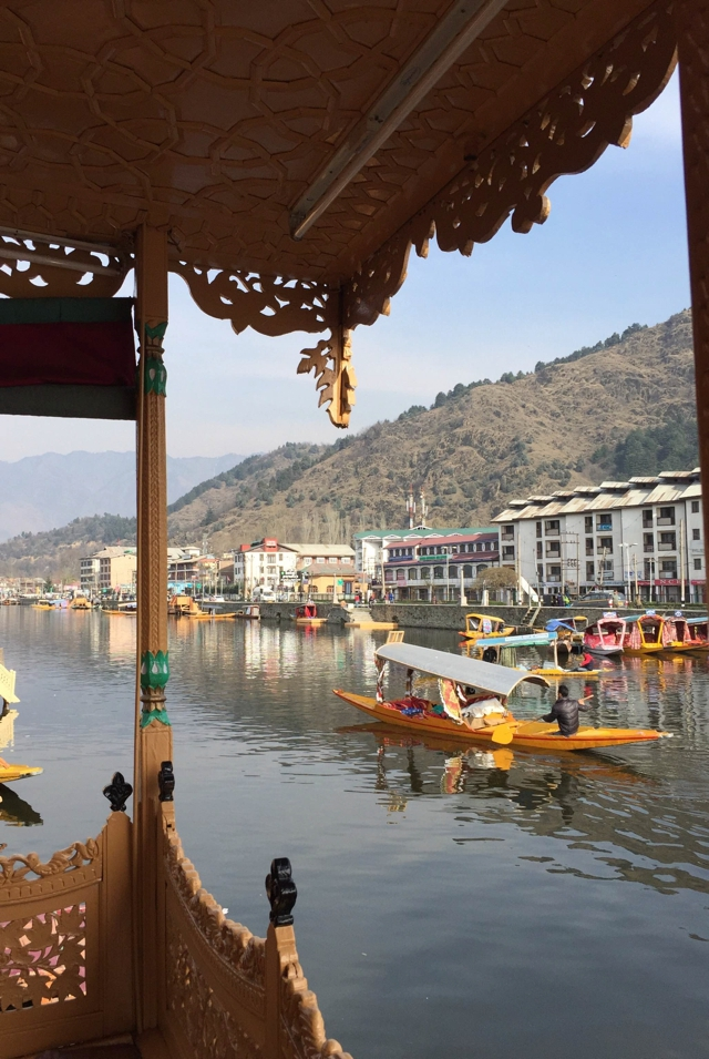 View Houseboat Kashmir