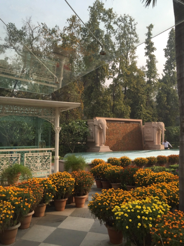 The Imperial Hotel New Delhi. Spa entance