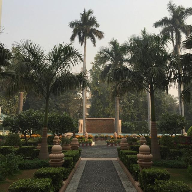 he Imperial Hotel New Delhi.garden