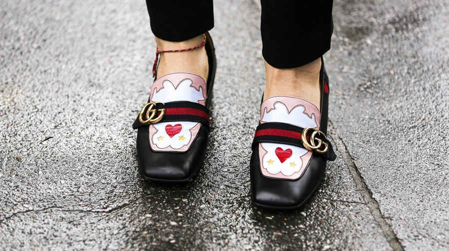 mocassins Gucci