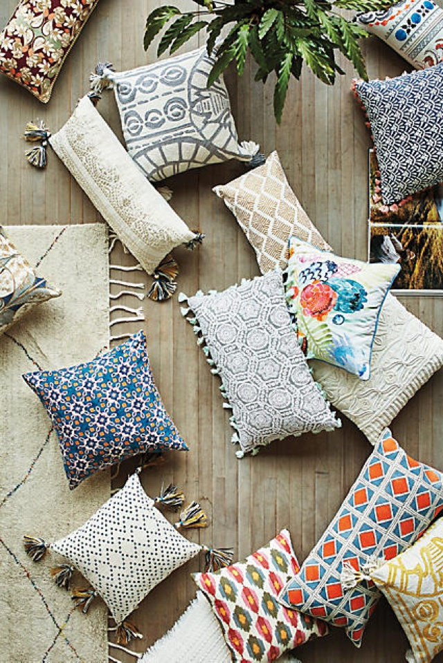 Boho Chic Pillows