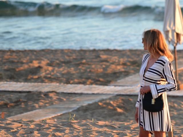 Trendsurvivor striped shirt dress Nina Papaioannou