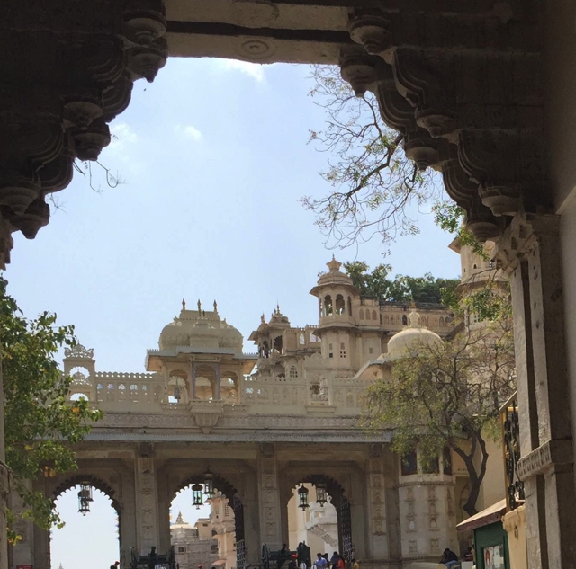 Udaipur City Palace entrance
