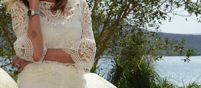 bell sleeve tops lace white