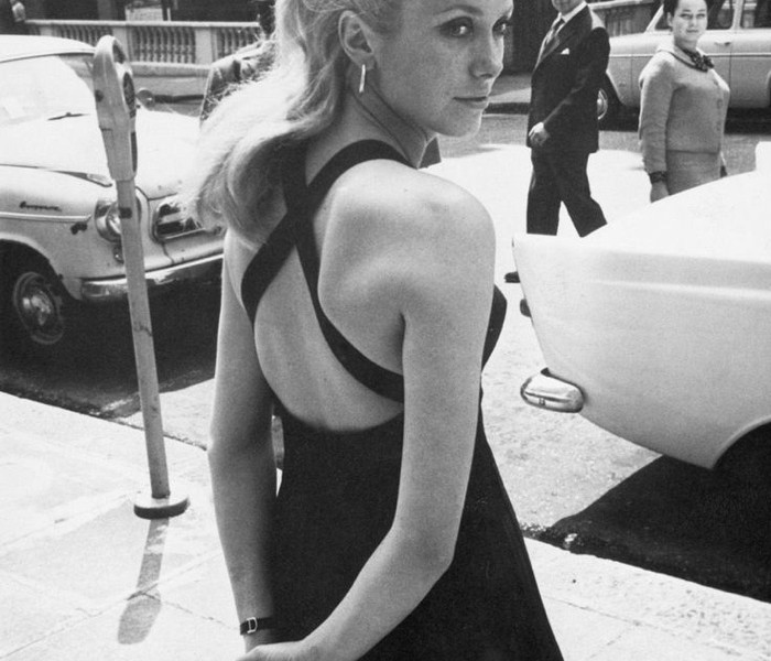 Catherine Deneuve, Street Style, 1964
