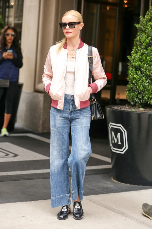Kate Bosworth bomber jacket