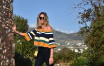 Everyday Smart Casual Look Off-the shoulder Top
