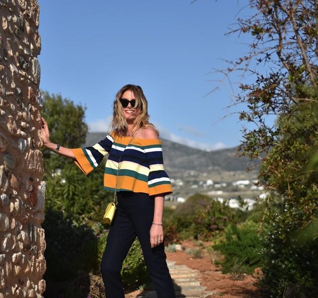 Nina Papaioannou Everyday 40 plus style