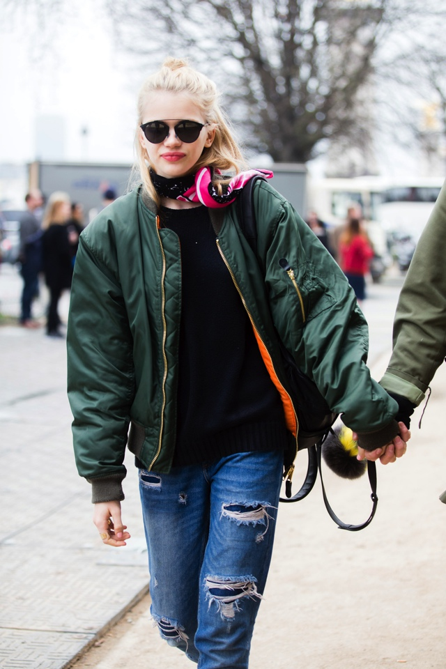 36c9ee90a37 10 ways to wear Bomber Jackets like a Street Style Star