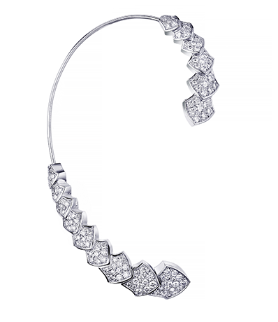 Akillis diamond earring cuff