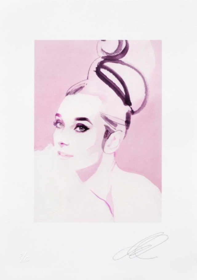 Audrey illustration