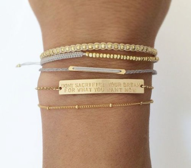 LAYERED + LONG Bracelets