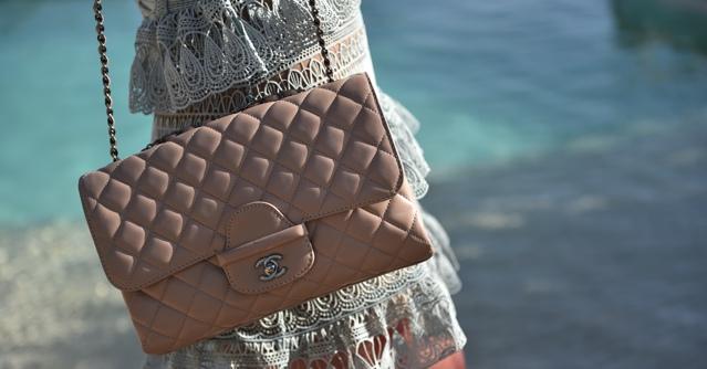 Chanel jumbo beige handbag TrendSurvivor