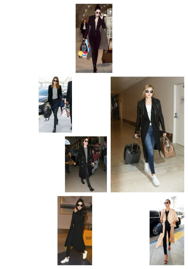 Which jeans style celebrities wear at the airport