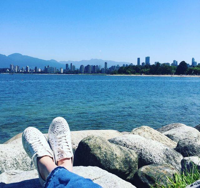 relaxing in Vancouver