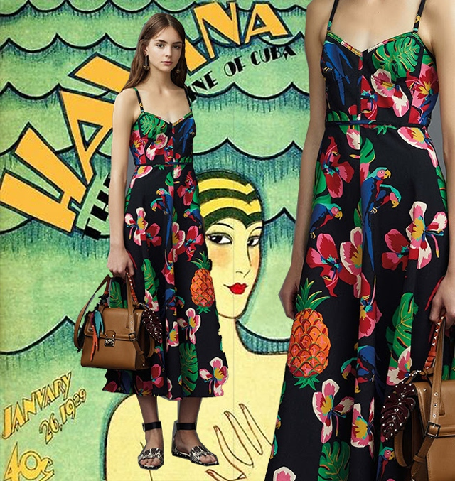 Valentino Resort 2017- the art of styling prints