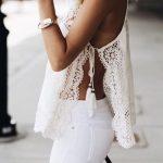 7 stylish fashion blogger Tips to wear a white blouse
