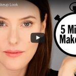 Lisa Eldridge 5 minute Everyday Makeup tutorial