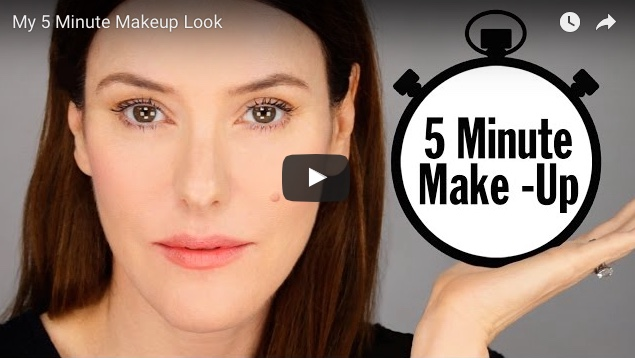 Lisa Eldridge 5 minute Everyday Makeup tutorial video