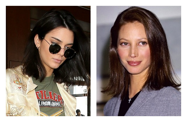 Kendall Jenner lob Christy Turlington 90s