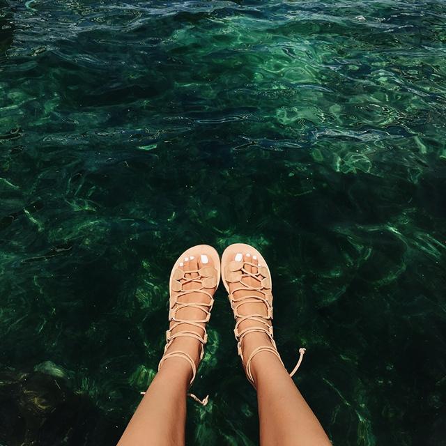 cornetti sandals beach