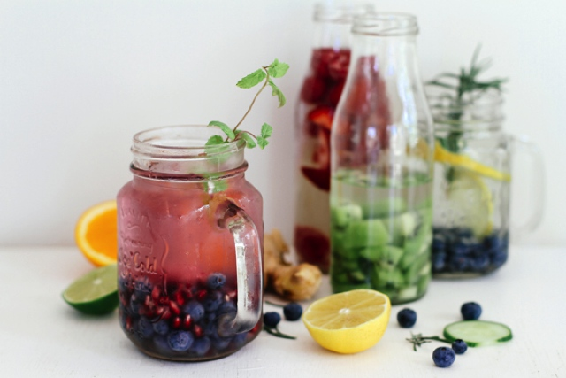 fruit infused water ideas