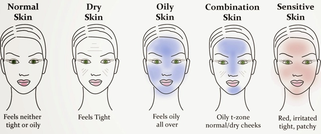 all skin-types illustration