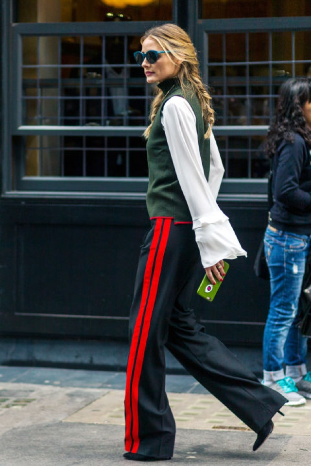 olivia-palermo-zara-athletic-pants