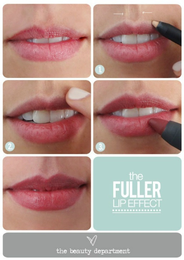 fuller lips tricks