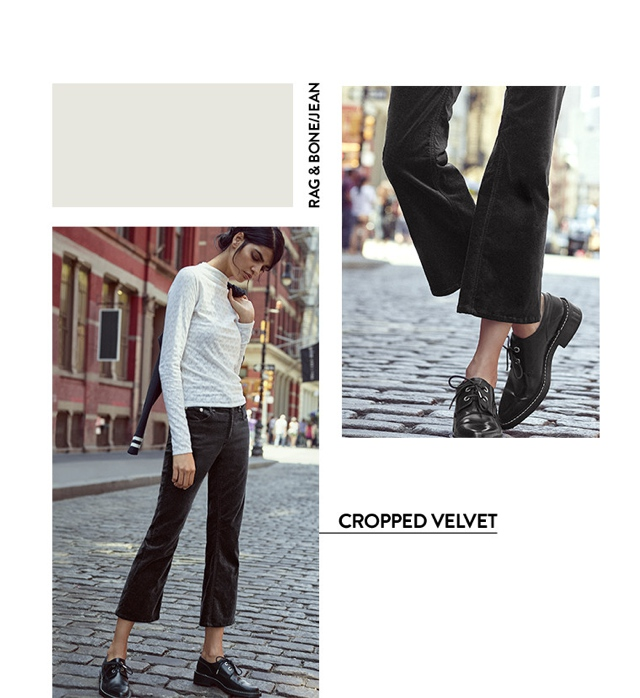 how to wear cropped pants winter