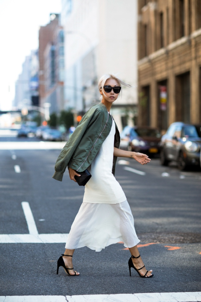 sheer-skirt-with-bomber-jacket