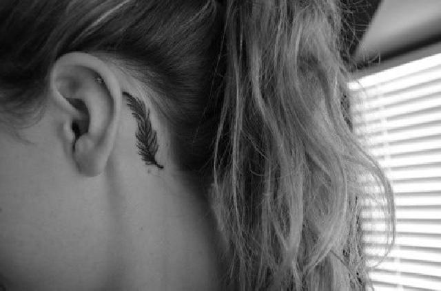 feather-tattoo-ear-tiny