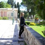 Blazer laidback luxe style Asian Museum in Corfu