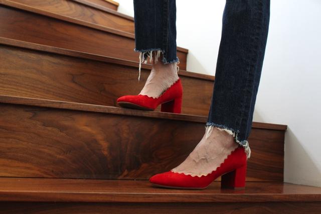 e228e11250f Effortlessly elegant mid-heels Chloe Lauren pumps