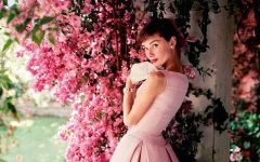 Audrey Hepburn, photographed for American Vogue in 1955