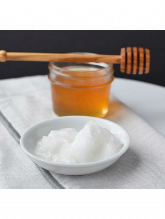 DIY Coconut Oil and Honey Face Mask