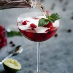 Fruity Champagne Cocktails