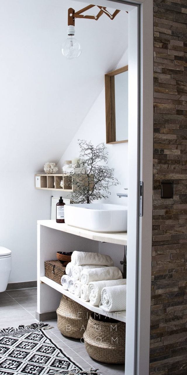 shelves storage small bathroom