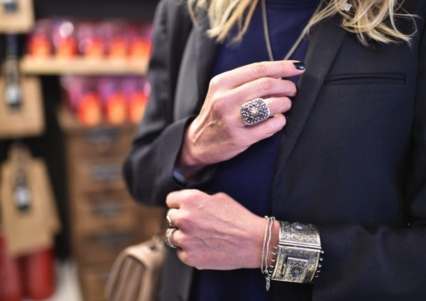 India bracelet Byzantine ring