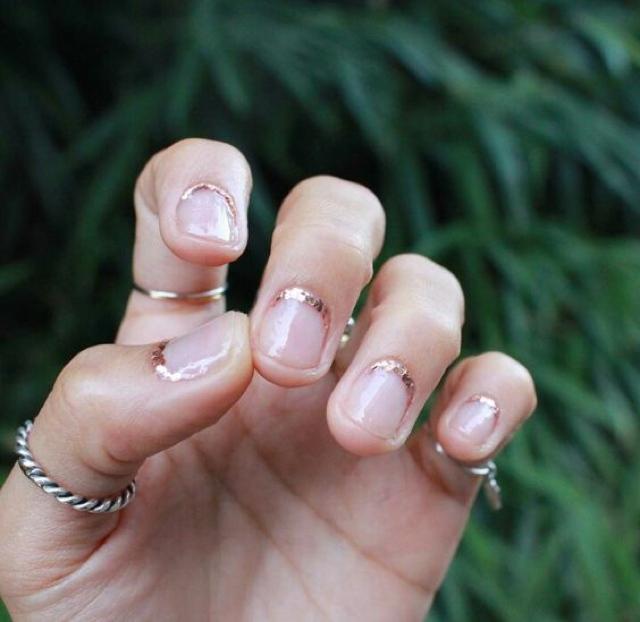cuticle glitter
