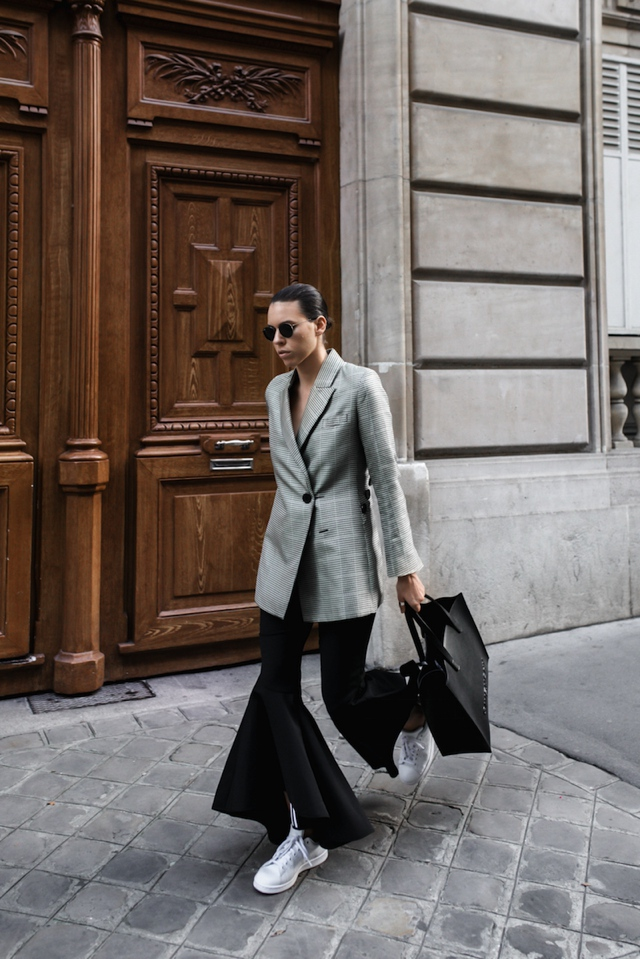 tailored jacket flares