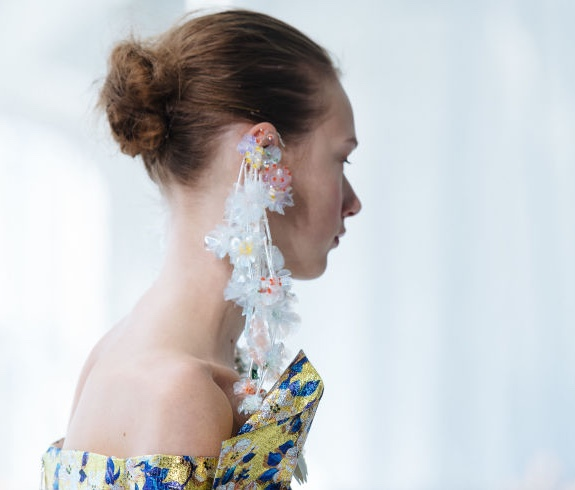 Delpozo mega earrings