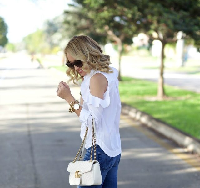 affordable stylish shoes jeans white top