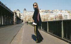 Flares Paris fashion week olivia