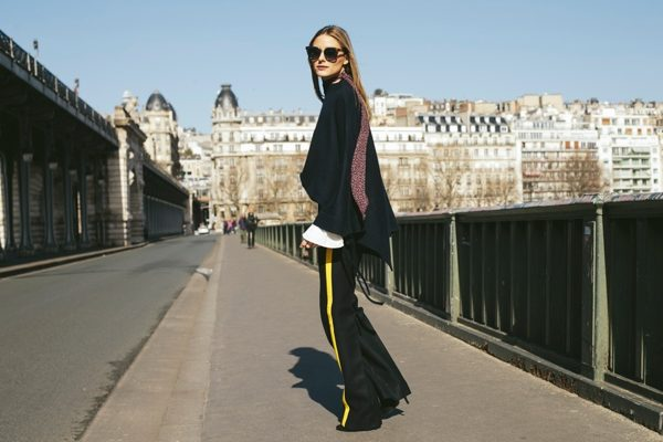 Flares Paris fashion week olivia