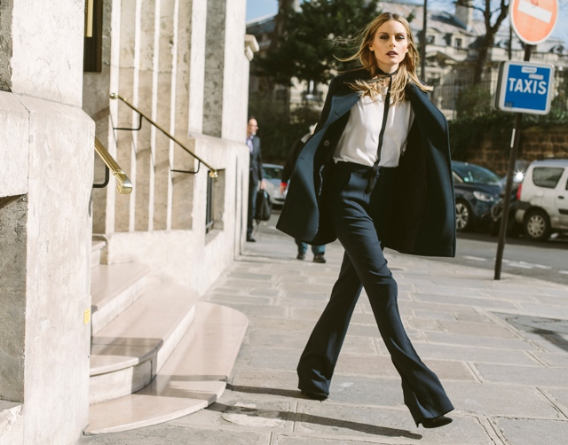 Olivia Palermo flare jeans