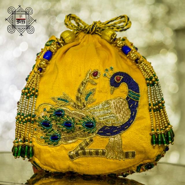 yellow silk patua