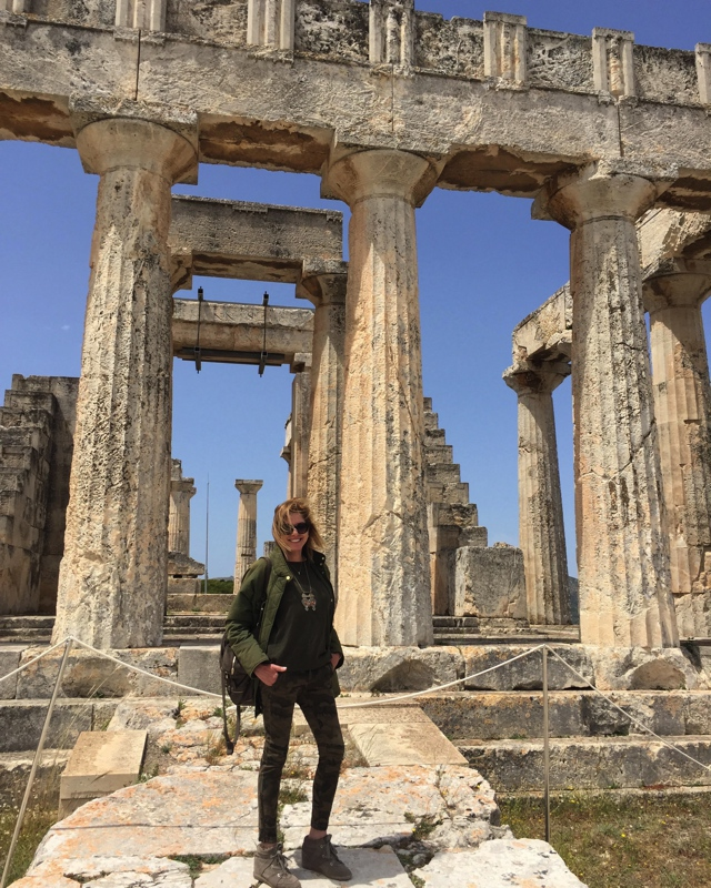 Aigina, Travel outfit Aphaia temple04